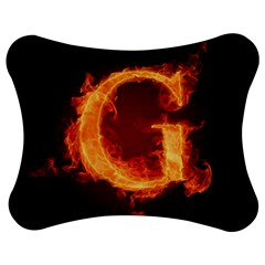 Fire Letterz G Jigsaw Puzzle Photo Stand (bow) by Alisyart