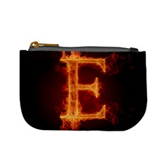 Fire Letterz E Mini Coin Purses