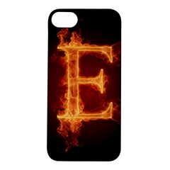 Fire Letterz E Apple Iphone 5s/ Se Hardshell Case