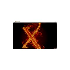 Fire Letterz X Cosmetic Bag (small)