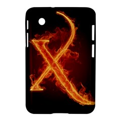 Fire Letterz X Samsung Galaxy Tab 2 (7 ) P3100 Hardshell Case