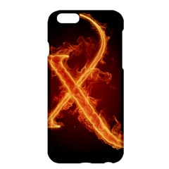 Fire Letterz X Apple Iphone 6 Plus/6s Plus Hardshell Case