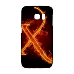 Fire Letterz X Galaxy S6 Edge by Alisyart