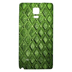 Circle Square Green Stone Galaxy Note 4 Back Case