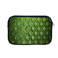 Circle Square Green Stone Apple Macbook Pro 13  Zipper Case by Alisyart