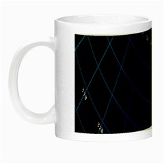 Formula Number Line Purple Natural Night Luminous Mugs