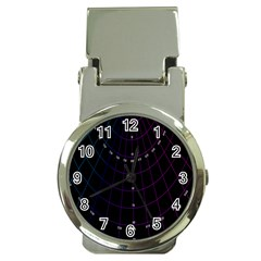 Formula Number Line Purple Natural Money Clip Watches