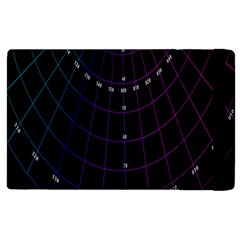 Formula Number Line Purple Natural Apple Ipad 2 Flip Case