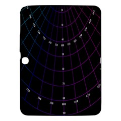 Formula Number Line Purple Natural Samsung Galaxy Tab 3 (10 1 ) P5200 Hardshell Case  by Alisyart