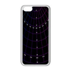 Formula Number Line Purple Natural Apple Iphone 5c Seamless Case (white) by Alisyart