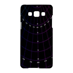 Formula Number Line Purple Natural Samsung Galaxy A5 Hardshell Case  by Alisyart