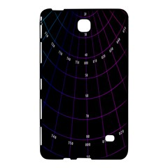 Formula Number Line Purple Natural Samsung Galaxy Tab 4 (7 ) Hardshell Case  by Alisyart