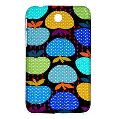 Fruit Apples Color Rainbow Green Blue Yellow Orange Samsung Galaxy Tab 3 (7 ) P3200 Hardshell Case  by Alisyart