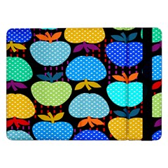Fruit Apples Color Rainbow Green Blue Yellow Orange Samsung Galaxy Tab Pro 12 2  Flip Case