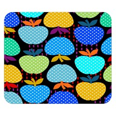 Fruit Apples Color Rainbow Green Blue Yellow Orange Double Sided Flano Blanket (small)  by Alisyart