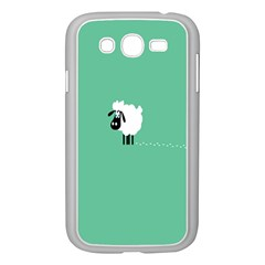 Goat Sheep Green White Animals Samsung Galaxy Grand Duos I9082 Case (white)