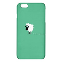Goat Sheep Green White Animals Iphone 6 Plus/6s Plus Tpu Case