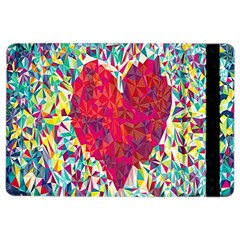Geometric Heart Diamonds Love Valentine Triangle Color Ipad Air 2 Flip by Alisyart