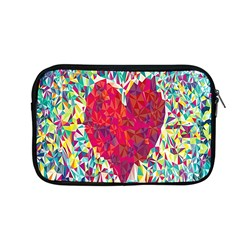 Geometric Heart Diamonds Love Valentine Triangle Color Apple Macbook Pro 13  Zipper Case