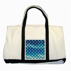 Goose Swan Anchor Blue Two Tone Tote Bag