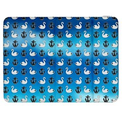 Goose Swan Anchor Blue Samsung Galaxy Tab 7  P1000 Flip Case