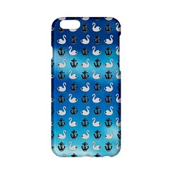 Goose Swan Anchor Blue Apple Iphone 6/6s Hardshell Case by Alisyart