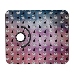 Goose Swan Hook Purple Galaxy S3 (flip/folio)