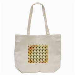Goose Swan Anchor Gold Tote Bag (cream)