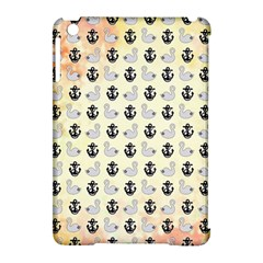 Goose Swan Anchor Gold Apple Ipad Mini Hardshell Case (compatible With Smart Cover)