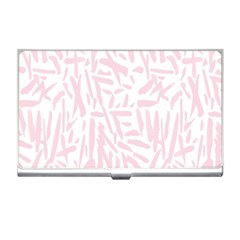 Graffiti Paint Pink Business Card Holders