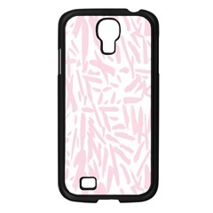 Graffiti Paint Pink Samsung Galaxy S4 I9500/ I9505 Case (black) by Alisyart