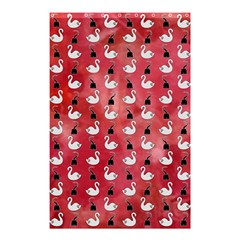 Goose Swan Hook Red Shower Curtain 48  X 72  (small)