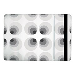 Hole Black Eye Grey Circle Samsung Galaxy Tab Pro 10 1  Flip Case