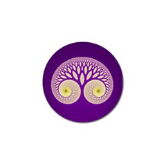 Glynnset Royal Purple Golf Ball Marker (10 Pack) by Alisyart
