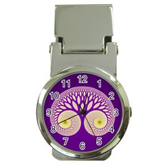 Glynnset Royal Purple Money Clip Watches