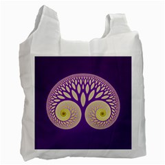 Glynnset Royal Purple Recycle Bag (two Side)  by Alisyart