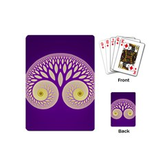 Glynnset Royal Purple Playing Cards (mini)  by Alisyart