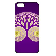 Glynnset Royal Purple Apple Iphone 5 Seamless Case (black)