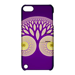 Glynnset Royal Purple Apple Ipod Touch 5 Hardshell Case With Stand by Alisyart