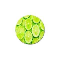 Green Lemon Slices Fruite Golf Ball Marker (4 Pack)