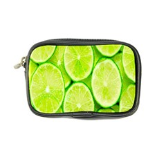 Green Lemon Slices Fruite Coin Purse by Alisyart