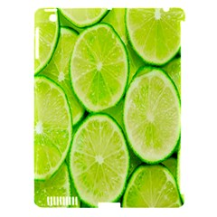 Green Lemon Slices Fruite Apple Ipad 3/4 Hardshell Case (compatible With Smart Cover) by Alisyart