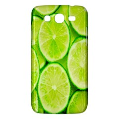 Green Lemon Slices Fruite Samsung Galaxy Mega 5 8 I9152 Hardshell Case  by Alisyart