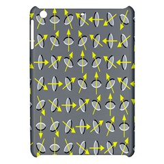 Illusory Motion Of Each Grain Arrow Grey Apple Ipad Mini Hardshell Case by Alisyart