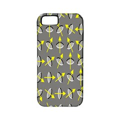 Illusory Motion Of Each Grain Arrow Grey Apple Iphone 5 Classic Hardshell Case (pc+silicone)