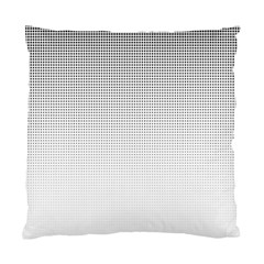 Halftone Simple Dalmatians Black Circle Standard Cushion Case (two Sides)