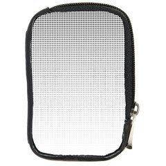 Halftone Simple Dalmatians Black Circle Compact Camera Cases by Alisyart