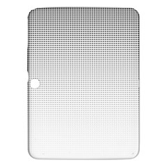 Halftone Simple Dalmatians Black Circle Samsung Galaxy Tab 3 (10 1 ) P5200 Hardshell Case