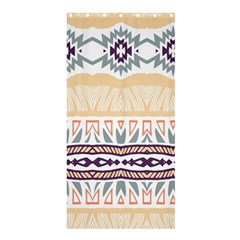 Tribal Design       	shower Curtain 36  X 72  by LalyLauraFLM