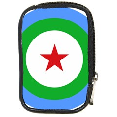 Roundel Of Djibouti Air Force  Compact Camera Cases by abbeyz71